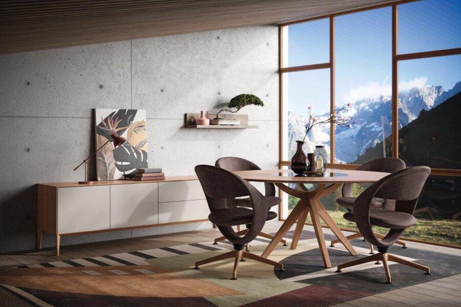 Bari Tisch Stuhl Milieu