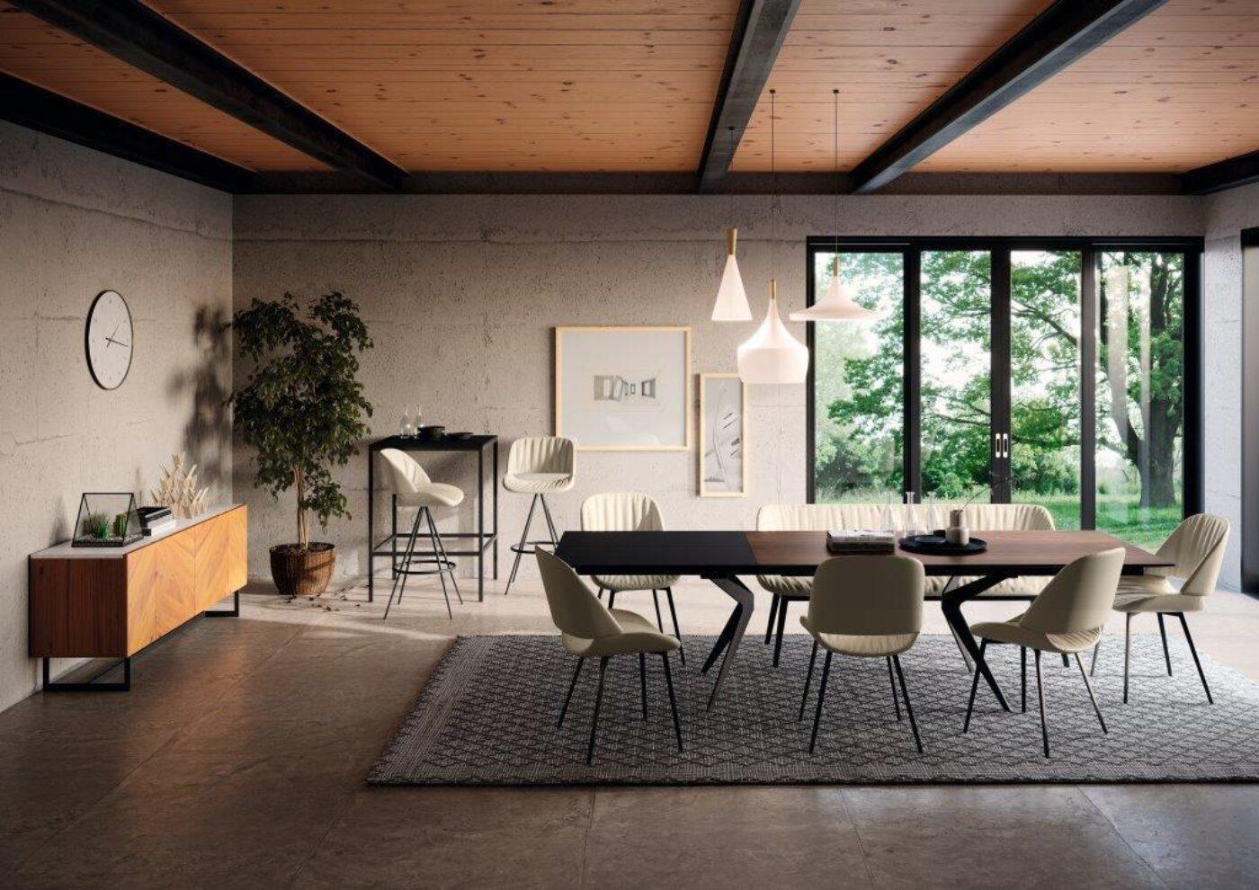 Capri Milieu Tisch Stuhl Bank Barhocker